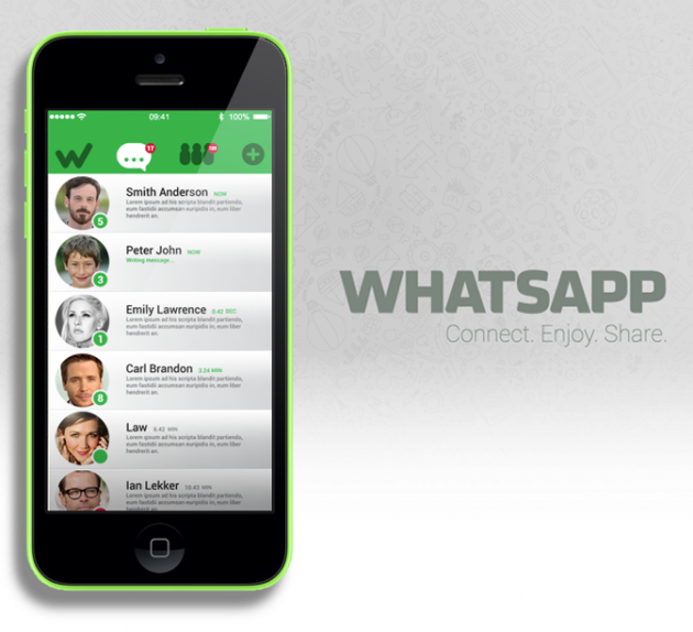 WhatsApp: αναβάθμιση της εφαρμογής για το iOS 7