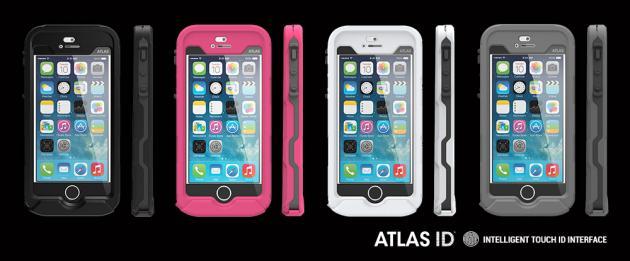 Atlas ID: Αδιάβροχη θήκη για το iPhone 5/5s με υποστήριξη Touch ID από την Incipio