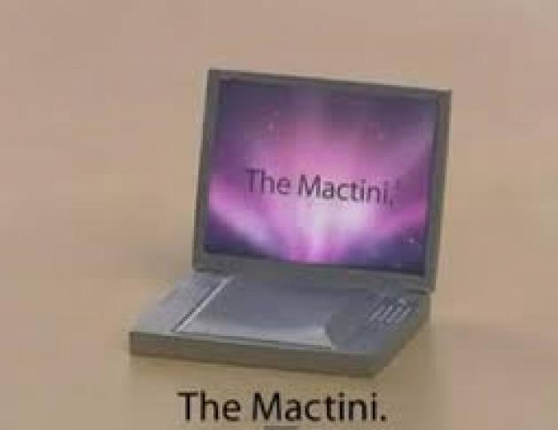 Ο πιο μικρός Mac υπολογιστής... (αστείο βίντεο)