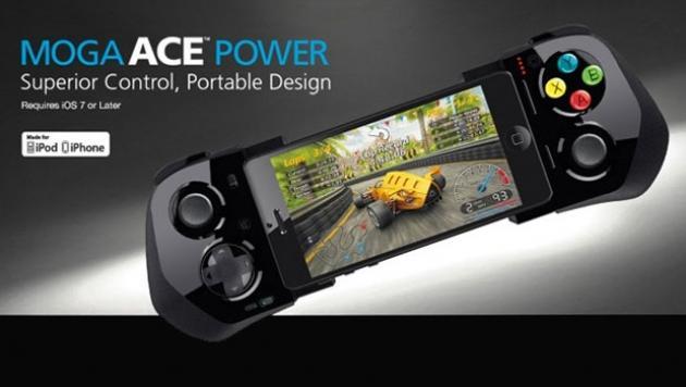 MOGA Ace Power: ο πρώτος Game Controller για iOS 7 και iPhone 5, iPhone 5c, iPhone 5s, iPod touch 5ης γενιάς