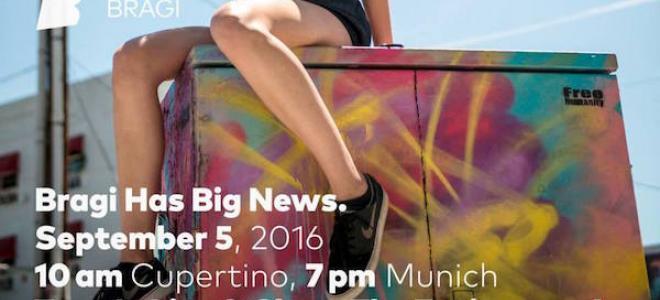 Μεγάλη ανακοίνωση από την Bragi την επόμενη εβδομάδα στο Cupertino. Ασύρματα ακουστικά που όλοι περιμένουμε...;