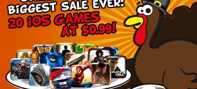 Παιχνίδια από τη Gameloft σε προσφορά
