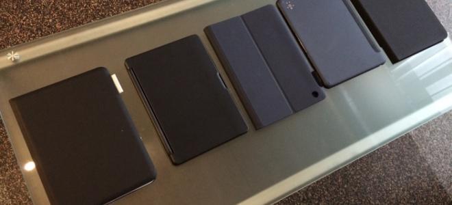 iPad Air: θήκες πληκτρολόγια από τη Logitech, Belkin και ZAGG