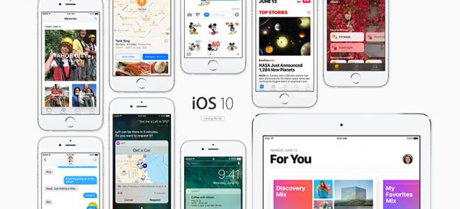 iOS 10 - Η επίσημη παρουσίαση του νέου iOS της Apple για iPhones και iPads