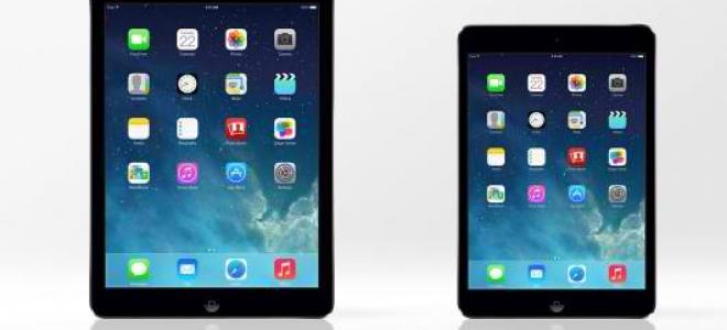 Συγκριτικό βίντεο iPad Air - iPad Retina mini