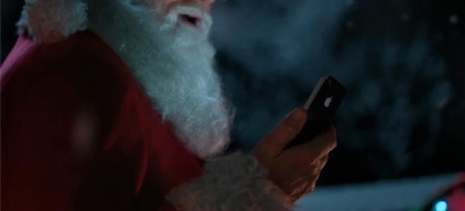 Ο Άι-Βασίλης χρησιμοποιεί το Siri και το iPhone 4S