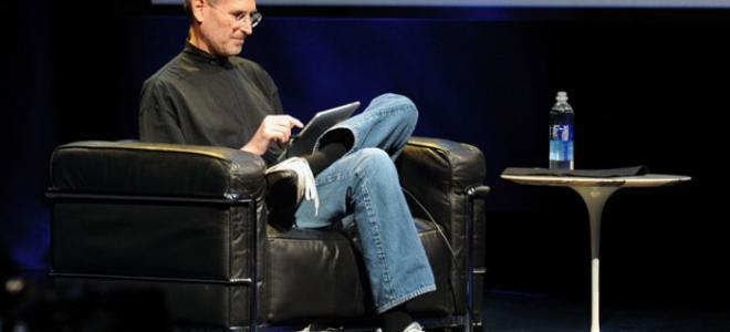 Ο Steve Jobs κατά τη διάρκεια brainstorming με συνεργάτες του στη NeXT